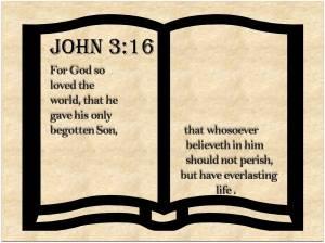 John 3 16 #