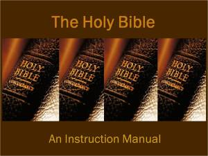 The Instruction Manual #1
