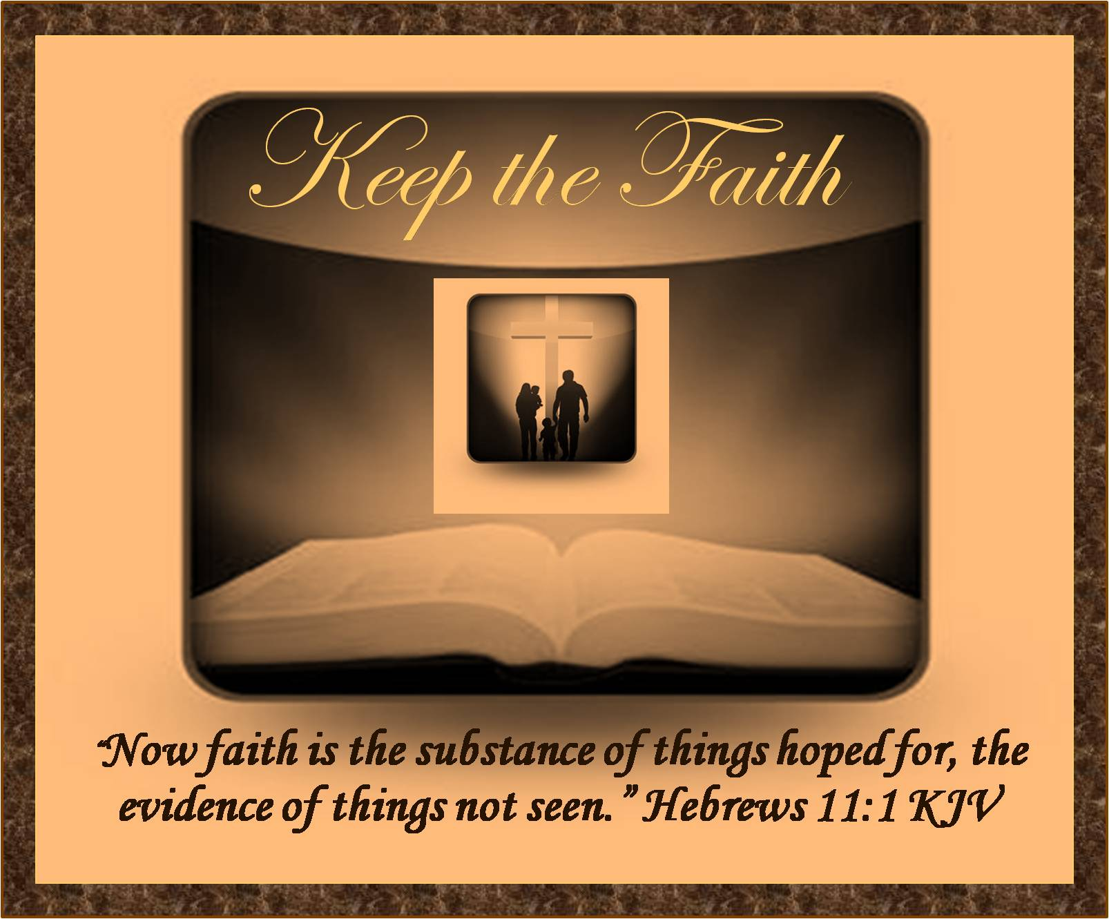 "keeping the faith As a young returned missionary, i and my returned missionary friends routinely bade our farewells with the words, ""keep the faith"" while this was a cliché given casually with very little."