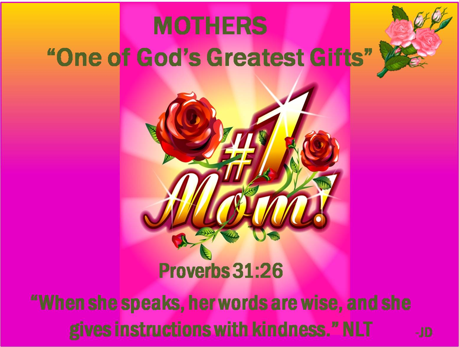 mother the greatest gift of god The greatest gift god gave to you was himself,  if you have been blessed by an article at godnet please consider a donation to help us continue and expand the.