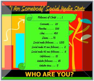 I Am Somebody Social Media Stats