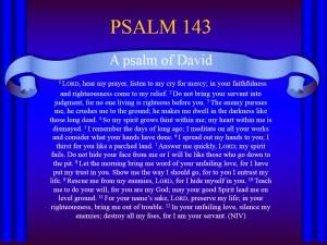 Psalm 143_