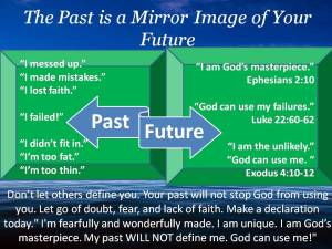 The Past is a Mirror Image of Your