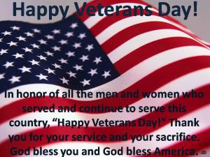 Happy Veterans Day!2
