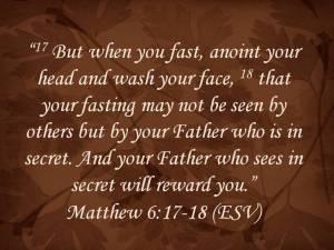 Matthew 6