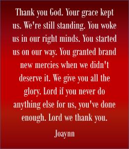 Brand New Mercies Joaynn