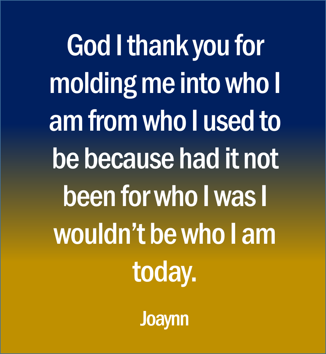 God I Thank You Joaynn