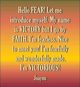 Hello Fear Joaynn