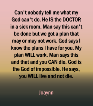 God Says Joaynn