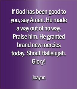 Glory Joaynn