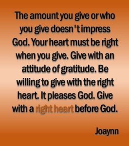 Right Heart Before God Joaynn