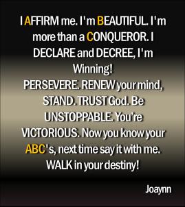 You're Unstoppable Joaynn
