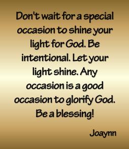 Special Occasion Joaynn