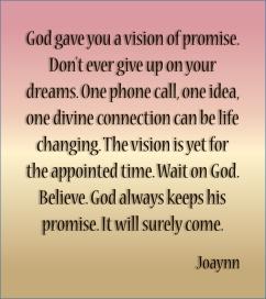 Vision of Promise Joaynn
