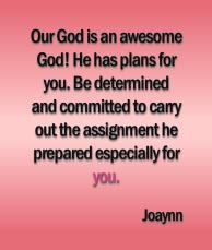 Especially For You Joaynn