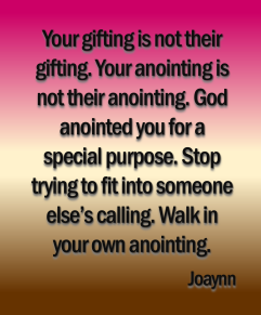 Not Their Anointing Joaynn