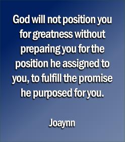 Greatness Joaynn