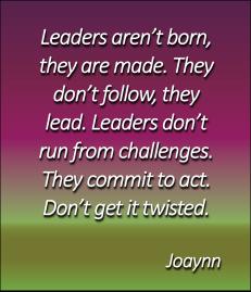 Leaders Joaynn