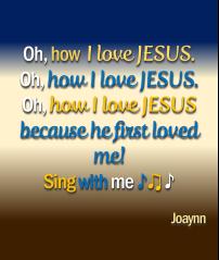 I Love Jesus Joaynn