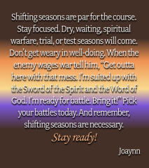 Shifting Seasons Joaynn