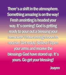 receive the blessings joaynn