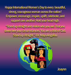 Happy International Women's Day2019