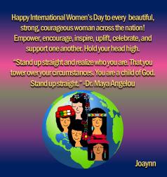 Happy International Women's Day2019