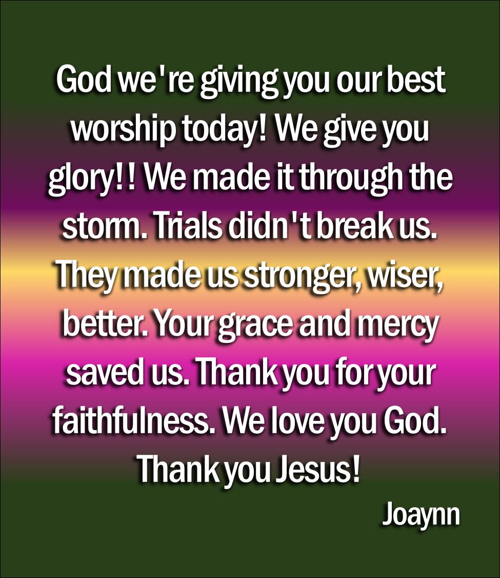 Best Worship Joaynn