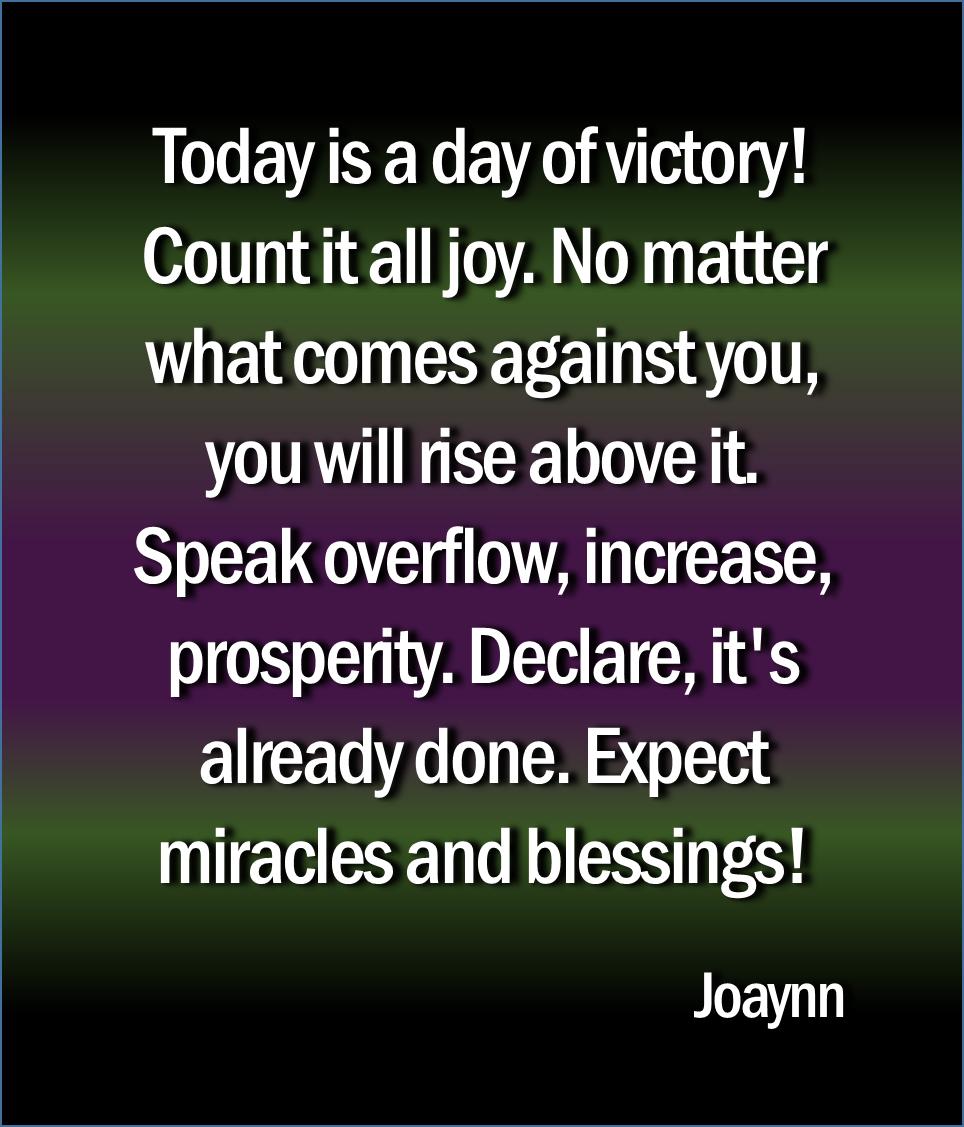 Day Of Victory Joaynn